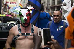 June 24, 2017 - Milan, Italy - Milano gay pride demonstration. (Credit Image: © Davide Bosco/Pacific Press via ZUMA Wire)