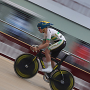 Scott Law, Australia, in action during the Men Omnium, Flying Lap during the 2012 Oceania WHK Track Cycling Championships, Invercargill, New Zealand. 21st November 2011. Photo Tim Clayton