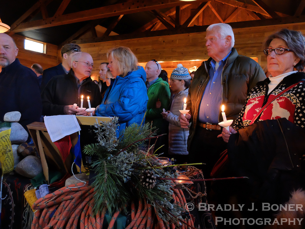 To download images, enter this password: vigil<br /> <br /> Candlelight vigil for AJ Linnell, Andy Tyson, Rusty Cheney and John Short.