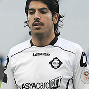 Altayspor's Ercan UNAL during their Play Off First leg match at Ataturk olympic Stadium in Istanbul Turkey on Monday, 17 May 2010. Photo by TURKPIX