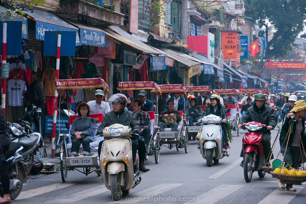 Old Quarter of Hanoi, Vietnam