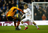 Leeds United midfielder Samu Saiz during the EFL Sky Bet Championship match between Leeds United and Wolverhampton Wanderers at Elland Road, Leeds, England on 7 March 2018. Picture by Paul Thompson.