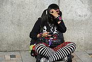 Japan, Tokyo Teens in the Harajuku district