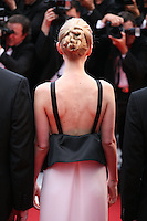Actress Carey Mulligan faces photographers at the The Coen brother's new film 'Inside Llewyn Davis' red carpet gala screening at the Cannes Film Festival Sunday 19th May 2013