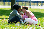 EXCLUSIVE PICTURES SPECIAL<br /> <br /> White Dee finds Love<br /> <br /> White Dee pictured with Jamaican Boyfriend Mark, the couple have been dating for some time according to sources close to Dee Kelly, <br /> and as these Exclusive pictures show they seem to be very much in Love.<br /> ©Exclusivepix