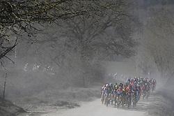 March 9, 2019 - Siena, Italia - Foto LaPresse - Fabio Ferrari.09 Marzo 2019 Siena (Italia).Sport Ciclismo.Strade Bianche 2019 - Gara donne - da Siena a Siena .Nella foto: durante la gara..Photo LaPresse - Fabio Ferrari.March, 09 2019 Siena (Italy) .Sport Cycling.Strade Bianche 2018 - Women's race - from Siena to.Siena .In the pic: during the race (Credit Image: © Fabio Ferrari/Lapresse via ZUMA Press)