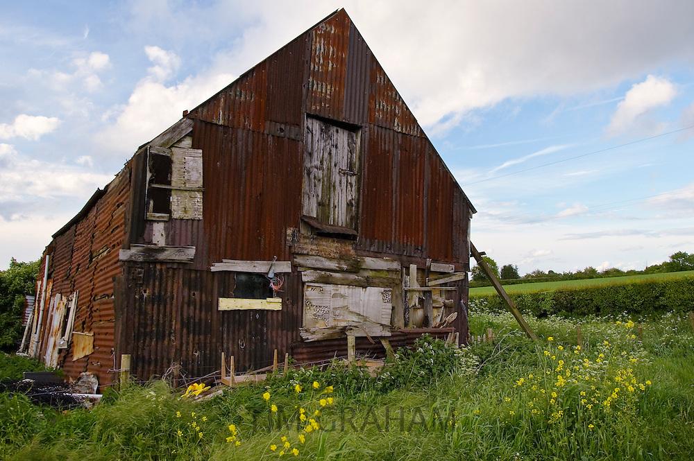 Derelict Barn, Worcestershire, United Kingdom