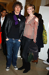 Model JADE PARFITT and TOBY BURGESS at 'A Night at Crumbland' an evening to celebrate the launch of the Stella McCartnry and Robert Crumb collaboration aand the publication of the R.Crumb handbook, held at Stella McCartney, 30 Bruton Street, London W1 on 17th March 2005.<br /><br />NON EXCLUSIVE - WORLD RIGHTS
