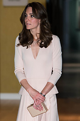 The Duchess of Cambridge during a visit to the National Portrait Gallery in London, to view the Vogue 100: A Century of Style exhibition and two photographic portraits of herself taken as part of a wider spread in British Vogue's centenary June issue.