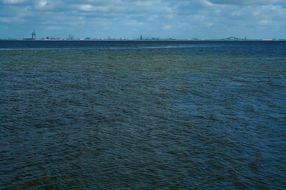 Port Arthur, TX Across Sabine Lake