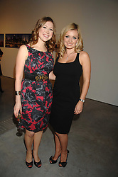 Left to right, singers HAYLEY WESTENRA and KATHERINE JENKINS at the Montblanc de la Culture Arts Patronage Award 2008 presented to Louise Blouin MacBain at the Louise Blouin MacBain Institute, 3 Olaf Street, London W11 on 16th April 2008.<br /><br />NON EXCLUSIVE - WORLD RIGHTS