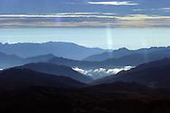 Andes Mountains in Ecuador.