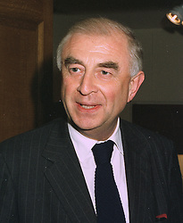 SIR JOHN WHEELER former Minister of State for Northern Ireland, at a party in London on October 20th 1997.MCG 16