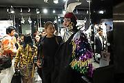 EMMA CQUISTON; MARCHIONESS OF BATH; DANIEL LISMORE, Modelling Sorapol clothes  in Soho, 19 September 2016