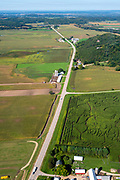 The Treinen Corn Maze near Lodi, Wisconsin, USA.