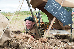 Staying at the Hotel Fritz with number 4 Commando<br />  17 July 2016<br />  Copyright Paul David Drabble<br />  www.pauldaviddrabble.photoshelter.com