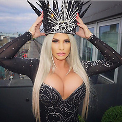 """Katie Price releases a photo on Instagram with the following caption: """"Loved my single launch last night #IgotU now available on iTunes \ud83d\udc85\ud83c\udffc hair by @carlbembridgehair makeup @fern_makeup \u2728"""". Photo Credit: Instagram *** No USA Distribution *** For Editorial Use Only *** Not to be Published in Books or Photo Books ***  Please note: Fees charged by the agency are for the agency's services only, and do not, nor are they intended to, convey to the user any ownership of Copyright or License in the material. The agency does not claim any ownership including but not limited to Copyright or License in the attached material. By publishing this material you expressly agree to indemnify and to hold the agency and its directors, shareholders and employees harmless from any loss, claims, damages, demands, expenses (including legal fees), or any causes of action or allegation against the agency arising out of or connected in any way with publication of the material."""