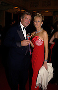 The Marquess of Blandford and Lady Alexandra Spencer-Churchill, Ball at Blenheim Palace in aid of the Red Cross, Woodstock, 26 June 2004. SUPPLIED FOR ONE-TIME USE ONLY-DO NOT ARCHIVE. © Copyright Photograph by Dafydd Jones 66 Stockwell Park Rd. London SW9 0DA Tel 020 7733 0108 www.dafjones.com