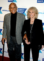 Harry Belafonte and Pamela Frank attending the Robert F. Kennedy Human Rights 2016 Ripple of Hope Award at New York Hilton Midtown on December 6, 2016 in New York City, NY, USA; Photo by Dennis Van Tine/ABACAPRESS.COM