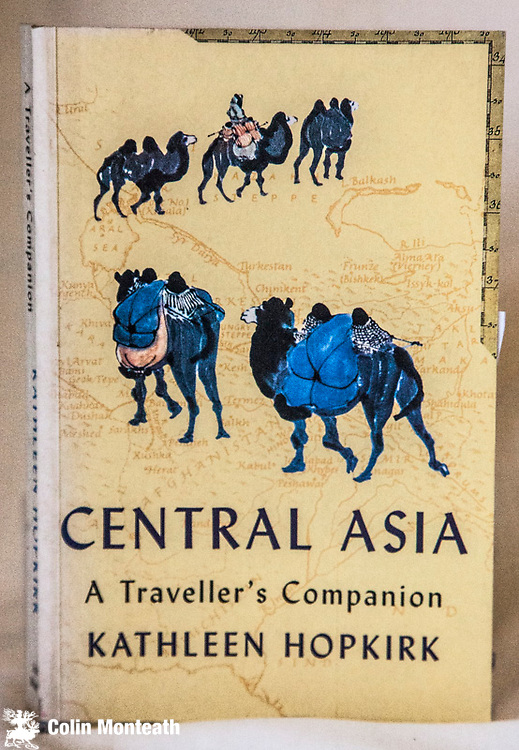 CENTRAL ASIA -  A Traveller's companion, Kathleen Hopkirk, John Murray, 1997, 280 page softbound, Good apart from sunned spine, B&W plates, maps, an excellent survey of the geography, history  & culture of the main Central Asian locations ( Arnold Heine Collection) $NZ40