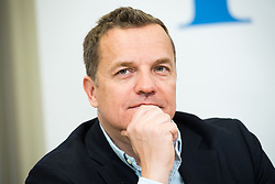 26.02.2019, FPÖ-Medienzentrum, Wien, AUT, FPÖ, Pressekonferenz mit Präsentation der Kandidatenliste zur EU-Wahl. im Bild Mitglied des EuropaparlamentsFPÖ Georg Mayer // MEP Georg Mayer (Europe of Nations and Freedom Group ) during media conference of the Austrian Freedom Party a presentation of the canidates for EU elections in Vienna, Austria on 2019/02/26. EXPA Pictures © 2019 PhotoCredit: EXPA/ Michael Gruber