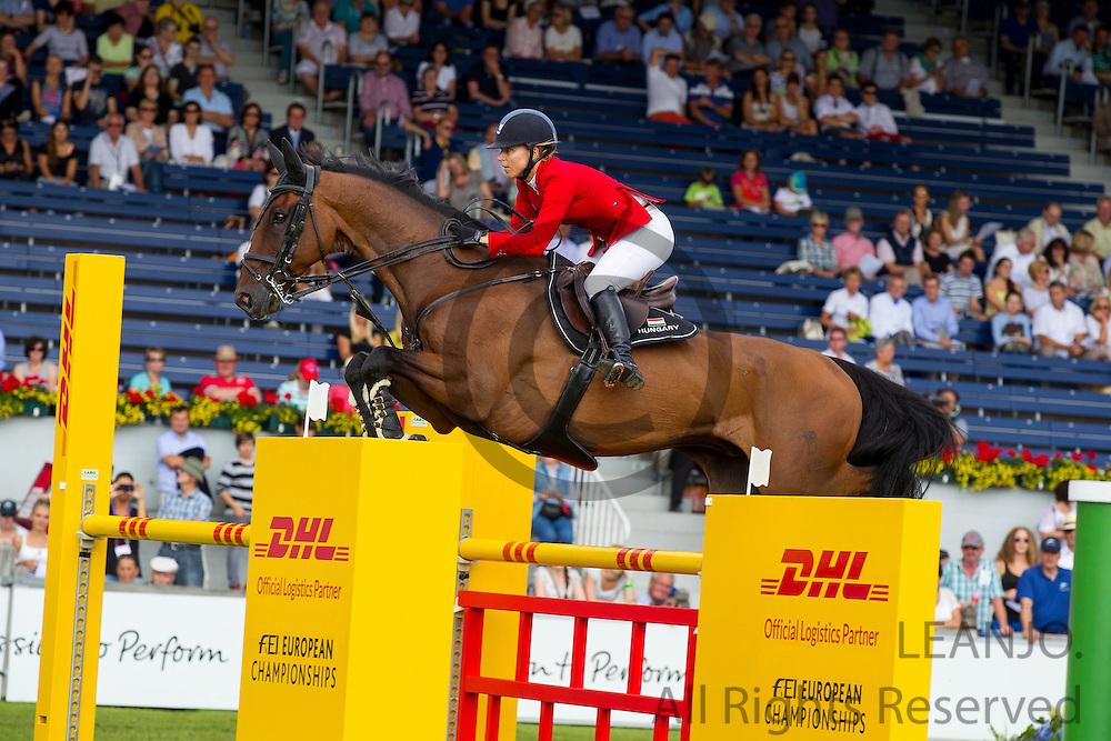 Mariann Hugyecz - Never Last <br /> FEI European Championships Aachen 2015<br /> © DigiShots