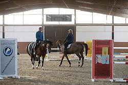 Stormanns Helena with Denis Lynch<br /> Training and Sales Center Stormanns - Eschweiler  2015<br /> © Hippo Foto - Dirk Caremans<br /> 23/11/15