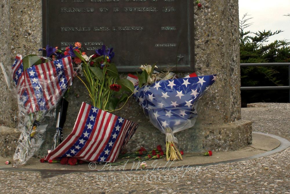 USS San Francisco (CA-38) Memorial at Land's End, San Francisco