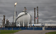 Flare at Shell`s Norco Manufacturing Complex in Norco. Louisiana.