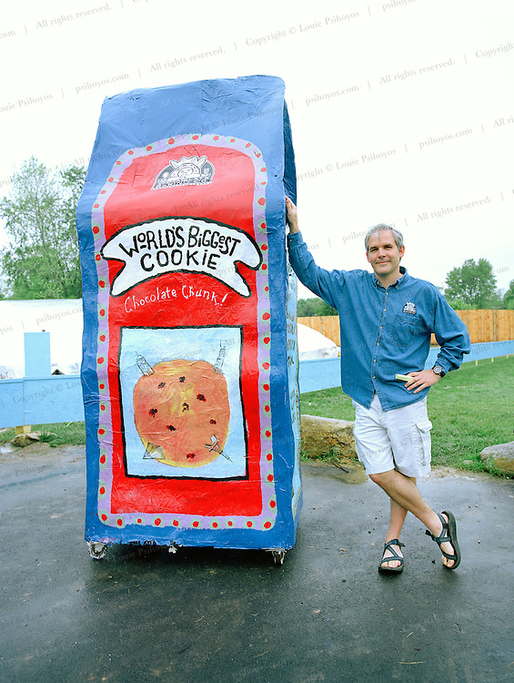 Founder of the Immaculate Baking Company in Flat Rock, North Carolina, Scott Blackwell.