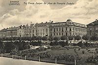 Zagreb (Croatie) : Zagreb Umjetnički paviljon. <br /> <br /> ImpresumZagreb : Naklada A. Brusina, [prije 1906].<br /> Materijalni opis1 razglednica : tisak ; 13,9 x 8,7 cm.<br /> NakladnikTiskara A. Brusina<br /> Vrstavizualna građa • razglednice<br /> ZbirkaGrafička zbirka NSK • Zbirka razglednica<br /> Formatimage/jpeg<br /> PredmetZagreb –– Trg kralja Tomislava<br /> SignaturaRZG-TOM-74<br /> Obuhvat(vremenski)20. stoljeće<br /> PravaJavno dobro<br /> Identifikatori001000962<br /> NBN.HRNBN: urn:nbn:hr:238:884000 <br /> <br /> Izvor: Digitalne zbirke Nacionalne i sveučilišne knjižnice u Zagrebu