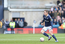 Jed Wallace of Millwall on the ball - Mandatory by-line: Arron Gent/JMP - 17/03/2019 - FOOTBALL - The Den - London, England - Millwall v Brighton and Hove Albion - Emirates FA Cup Quarter Final