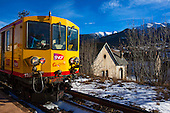 Train Jaune - Yellow Train, Pyrenees