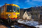 Train Jaune - Yellow Train, Pyrenees