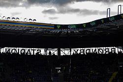 Brøndby Stadion under kampen i 3F Superligaen mellem Brøndby IF og Lyngby Boldklub den 1. marts 2020 på Brøndby Stadion (Foto: Claus Birch).
