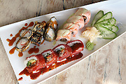 An assortment of Sushi to be served