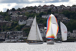 The Silvers Marine Scottish Series 2014, organised by the  Clyde Cruising Club,  celebrates it's 40th anniversary.<br /> Day 1 4040C , Lemarac , B.Tunnock , CCC , Moody 38<br /> <br /> Racing on Loch Fyne from 23rd-26th May 2014<br /> <br /> Credit : Marc Turner / PFM