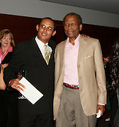 **EXCLUSIVE**.Gilbert Hippolyte and Sidney Poitier..Pras Michel of The Fugees Honoring The First Ladies of Africa at a Cocktail Reception in partnership US Doctors For AFRICA..WP Wolfgang Puck Restaurant..Pacific Design Center..West Hollywood, CA, USA..Monday, April 20, 2009..Photo By Celebrityvibe.com.To license this image please call (212) 410 5354; or Email: celebrityvibe@gmail.com ; .website: www.celebrityvibe.com.