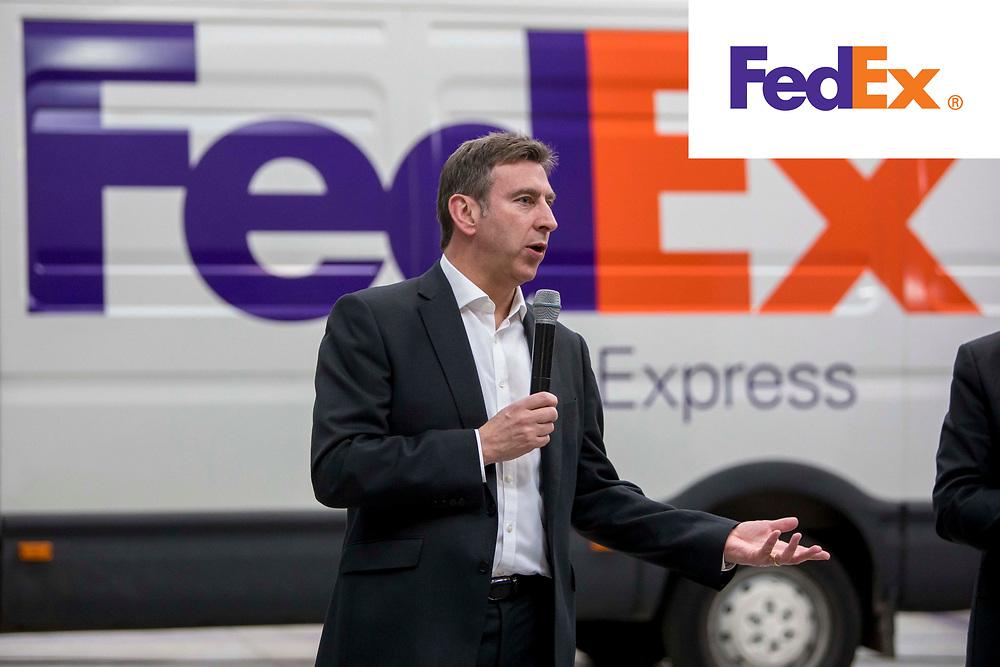 Visita de Michael Holt a instalaciones de TNT y Fedex en Girona y Barcelona.