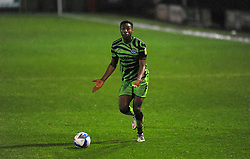 Ebou Adams of Forest Green Rovers- Mandatory by-line: Nizaam Jones/JMP - 14/11/2020 - FOOTBALL - innocent New Lawn Stadium - Nailsworth, England - Forest Green Rovers v Mansfield Town - Sky Bet League Two