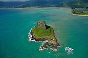 Mokolii Island, Chinamans Hat, Waimanalo, Makapu Pt., Hawaii Kai, Kahala,Oahu, Hawaii