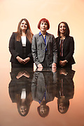 SHOT 12/4/19 11:31:52 AM - McGuane & Hogan, P.C., a Colorado family law firm located in Denver, Co. Includes attorneys Kathleen Ann Hogan, Halleh T. Omidi and Katie P. Ahles. (Photo by Marc Piscotty / © 2019)