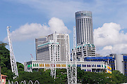 Singapore. Singapore River Cruise.
