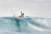 Carissa Moore of Hawaii (pictured) winning her Round 1 heat at the Roxy Pro Gold Coast on Saturday March 12, 2016. Moore posted an 8.50 out of a possible ten points to advance into Round 3. IMAGE CREDIT: WSL / Cestari PHOTOGRAPHER: Kelly Cestari SOCIAL MEDIA TAG: @wsl @kc80 The attached image is a hand-out image from the World Surf League and is royalty free for editorial use only, no commercial rights granted. The copyright is owned by World Surf League. Sale or license of the images is prohibited. ALL RIGHTS RESERVED.