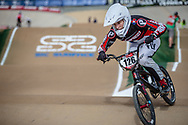 #126 (MARTINEZ Tessa) FRA at Round 1 of the 2020 UCI BMX Supercross World Cup in Shepparton, Australia