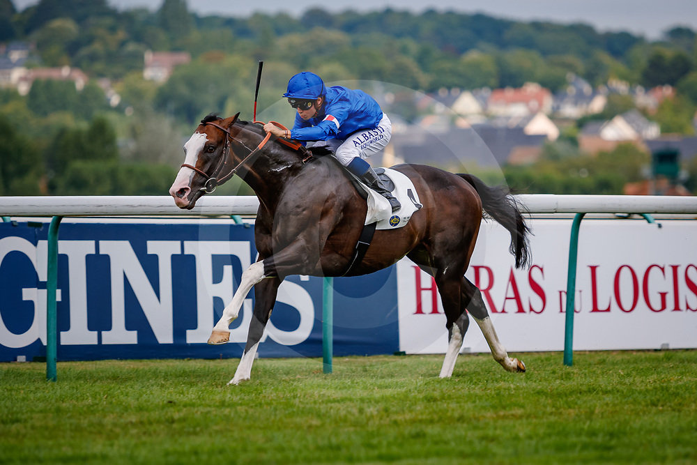 Talismanic (M. Barzalona) wins Prix Gontaut-Biron Hong Kong Jockey Club Gr.3 in Deauville, France  15/08/2018, photo: Zuzanna Lupa
