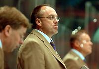 ◊Copyright:<br />GEPA pictures<br />◊Photographer:<br />Franz Gruber<br />◊Name:<br />Poeck<br />◊Rubric:<br />Sport<br />◊Type:<br />Eishockey<br />◊Event:<br />IIHF Eishockey WM 2005, Oesterreich vs Russland, AUT vs RUS<br />◊Site:<br />WIEN, Austria<br />◊Date:<br />30/04/05<br />◊Description:<br />Trainer Herbert Poeck (AUT)<br />◊Archive:<br />DCSFG-3004054225<br />◊RegDate:<br />30.04.2005<br />◊Note:<br />9 MB - BG/BK - Nutzungshinweis: Es gelten unsere Allgemeinen Geschaeftsbedingungen (AGB) bzw. Sondervereinbarungen in schriftlicher Form. Die AGB finden Sie auf www.GEPA-pictures.com. Use of pictures only according to written agreements or to our business terms as shown on our website www.GEPA-pictures.com
