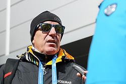 PYEONGCHANG-GUN, SOUTH KOREA - FEBRUARY 18: Drago Ćosić, Croatian HRT TV Commentator during the Winter Olympic Games Pyeongchang 2018 on February 18, 2018 in Pyeongchang-gun, South Korea. Photo by Kim Jong-man / Sportida