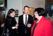 SALLY BACON; SIR NICHOLAS SEROTA; MAGGIE ATKINSON, Founding Fellows 2010 Award Ceremony. Foundling Museum on Monday  8 March