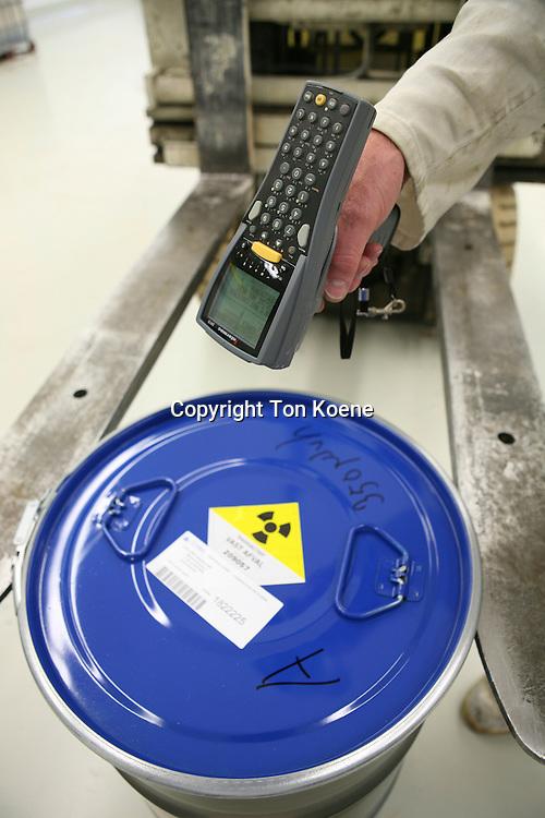 Dutch radioactive waste is stored in Nieuwdorp